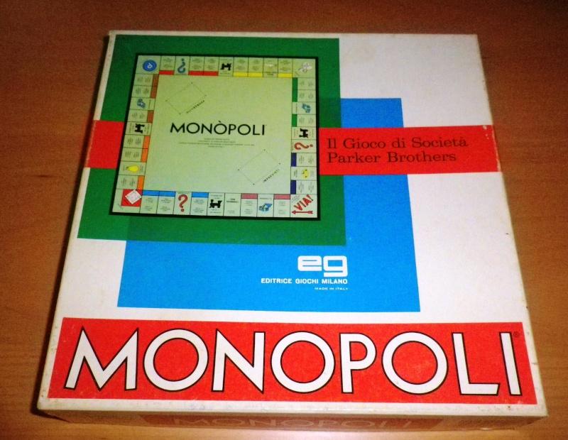 MONOPOLI - Gioco di società in Lire degli Anni '80 - Codice 1600 (molto raro) 0110