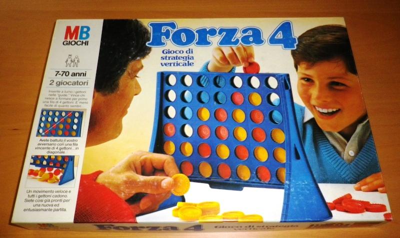 FORZA 4 - Gioco in scatola MB del 1978 0112