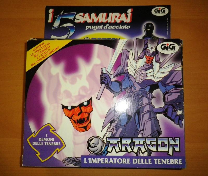I CINQUE SAMURAI TAKARA/GIG del 1988 - Lotto di 6 personaggi in ottime condizioni 0115