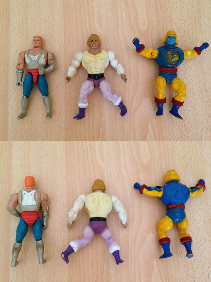 Masters of the Universe - Lotto di 12 personaggi anni '80  0122