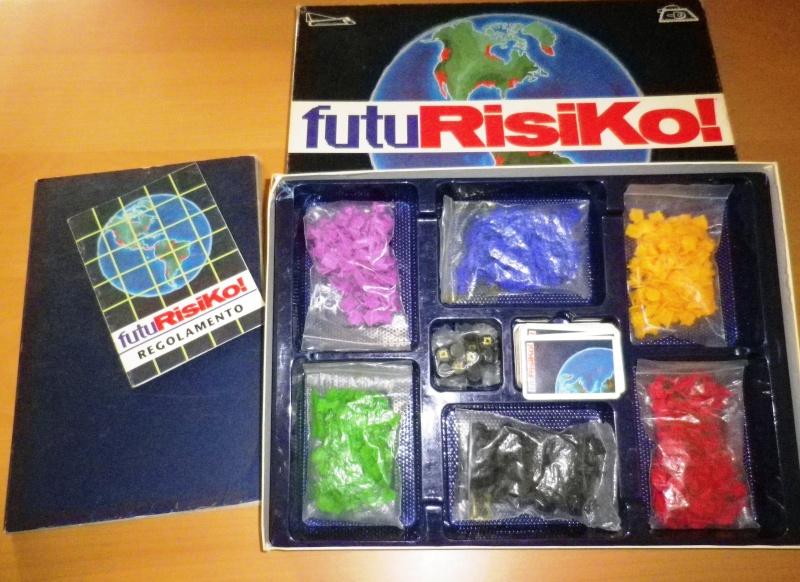 FUTURISIKO - Gioco di Società EG Editrice - Prima edizione del 1992 0212