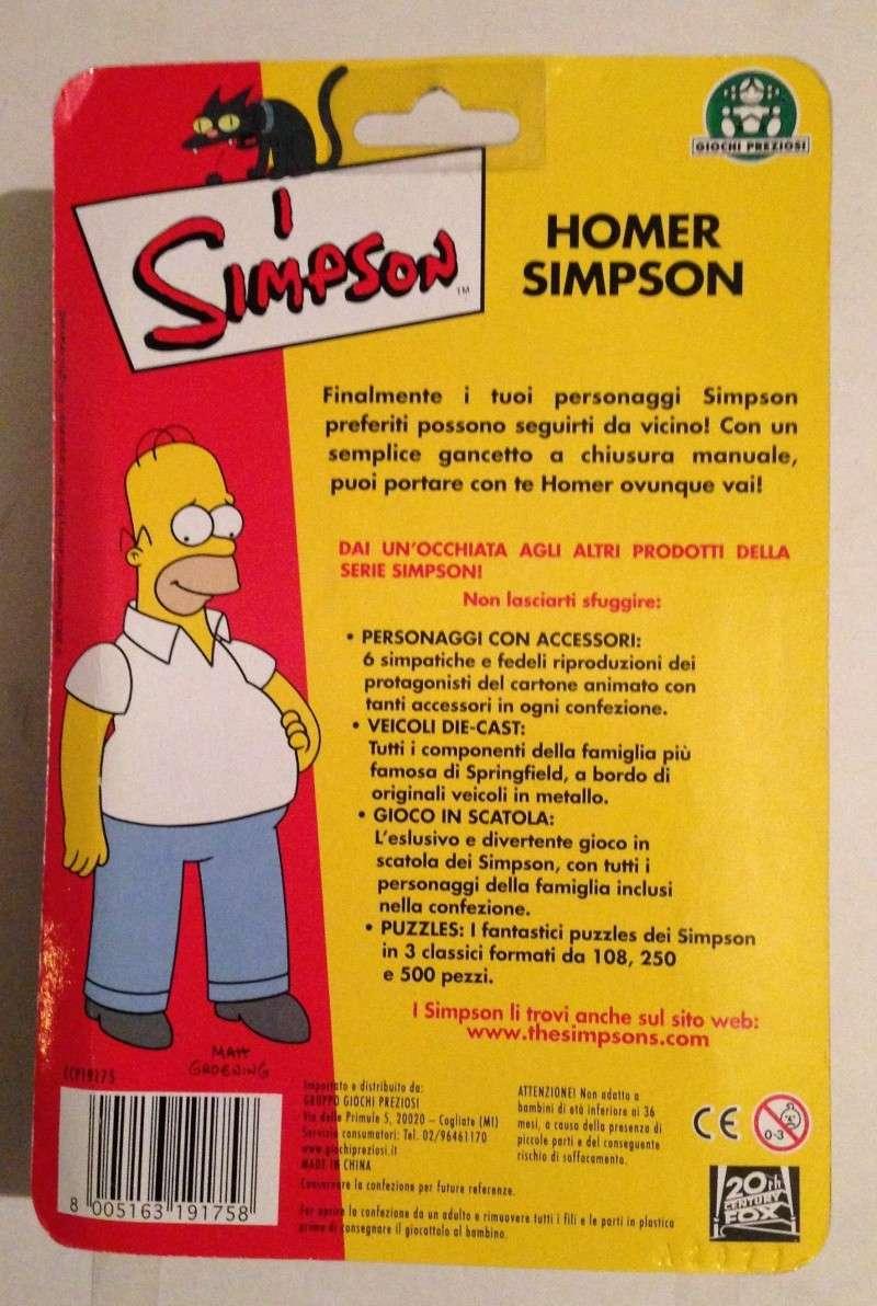 HOMER SIMPSON - Portachiavi della Giochi Preziosi del 2002 0215