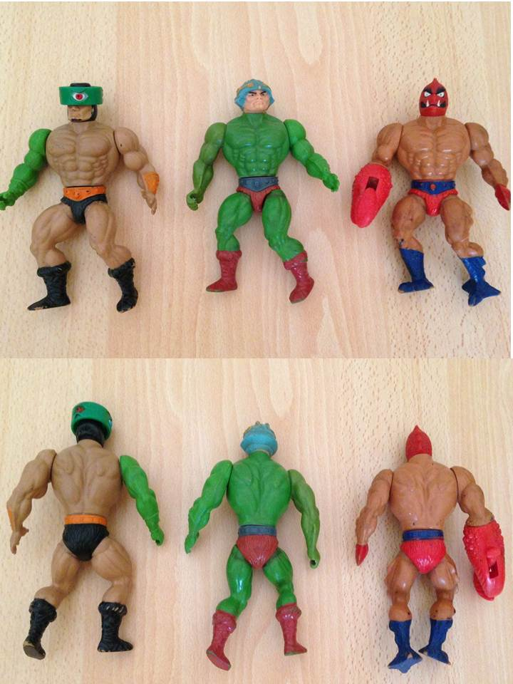 Masters of the Universe - Lotto di 12 personaggi anni '80  0314