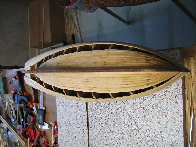 """BISQUINE sur la base """"La Cancalaise"""" Billing Boats 1/40°  Bild0014"""