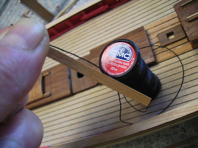 """BISQUINE sur la base """"La Cancalaise"""" Billing Boats 1/40°  - Page 2 Bild0035"""