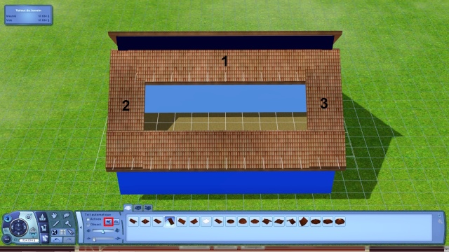 [Apprenti] Créer une terrasse dans une toiture classique Tuto1013