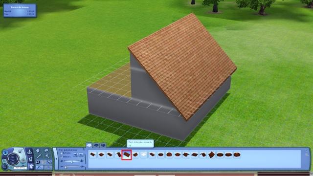 [Apprenti] Créer une terrasse dans une toiture classique Tuto211