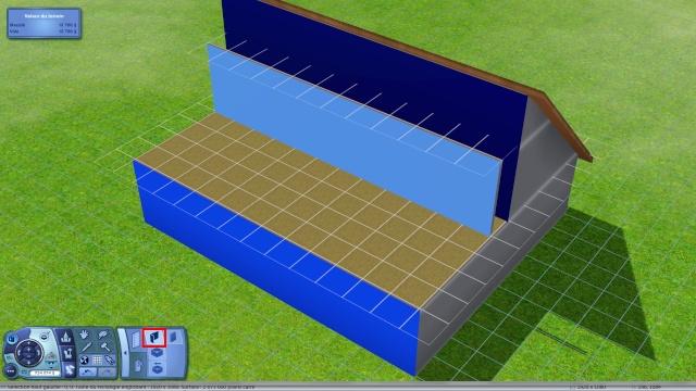 [Apprenti] Créer une terrasse dans une toiture classique Tuto314
