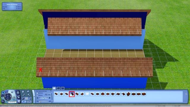 [Apprenti] Créer une terrasse dans une toiture classique Tuto413