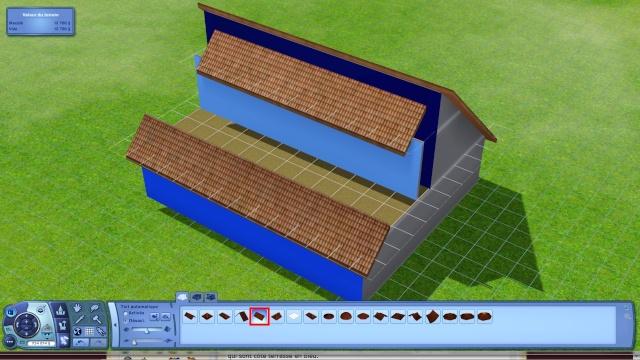 [Apprenti] Créer une terrasse dans une toiture classique Tuto512