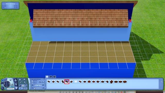 [Apprenti] Créer une terrasse dans une toiture classique Tuto612