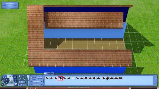 [Apprenti] Créer une terrasse dans une toiture classique Tuto712