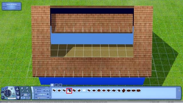 [Apprenti] Créer une terrasse dans une toiture classique Tuto811
