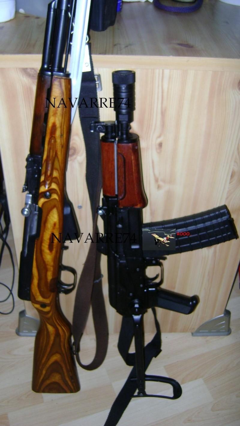 Démontage crosse pliante AK 47 Dsc04721