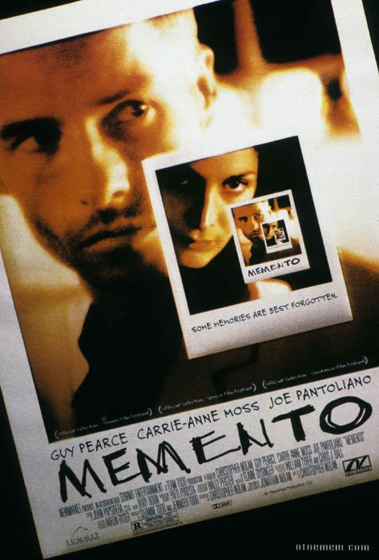 L'amnésie en littérature et au cinéma Mement10