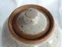 Small lidded stoneware pot - no stamp 3lid10