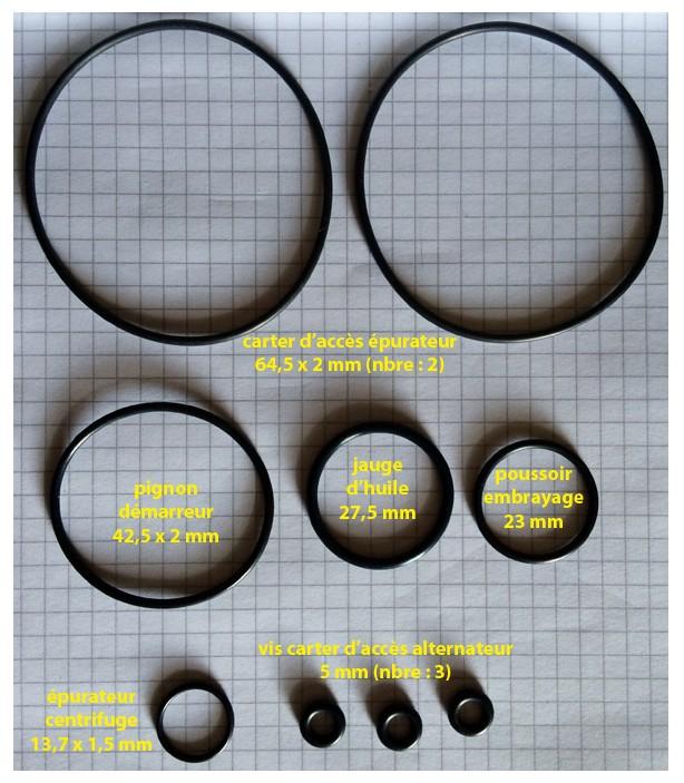 Identification des joints 125k5-15