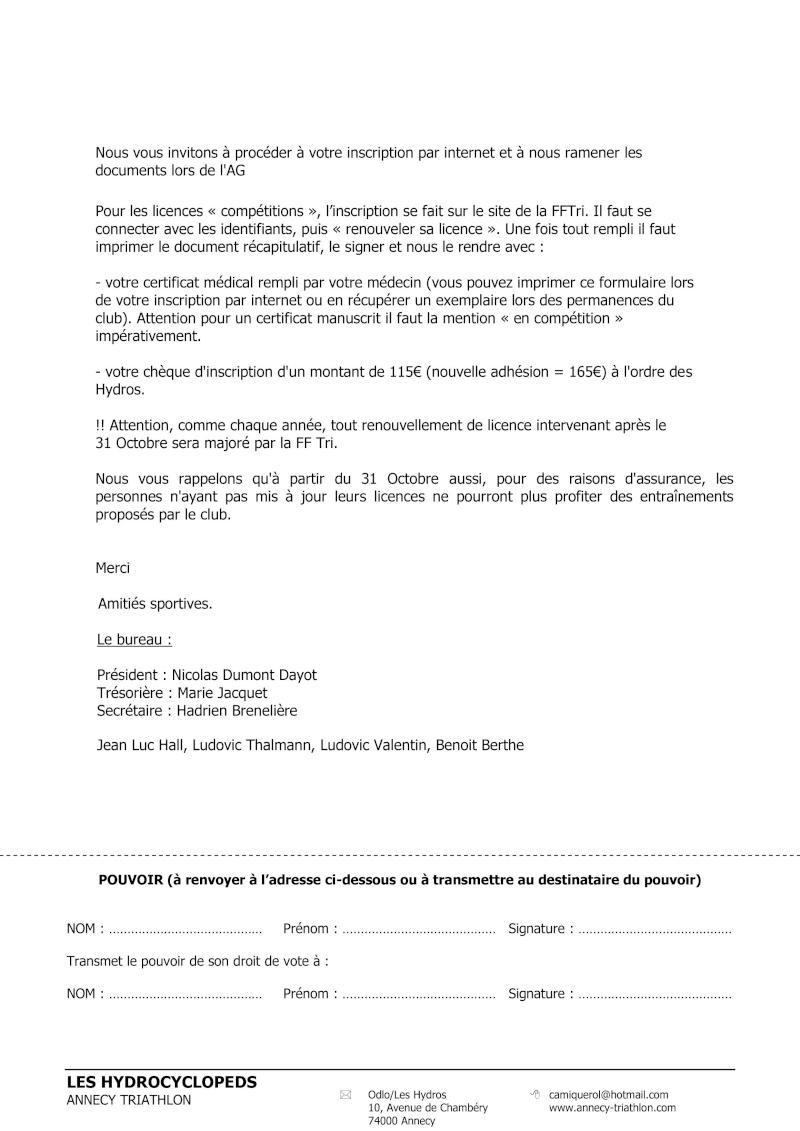 AG du 17 Octobre 2014 Convoc11