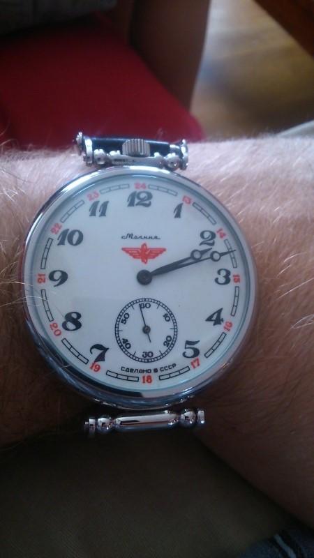 molnija pocket watch Mol211