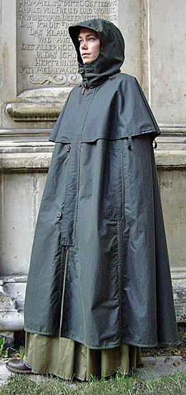 Le coin mode - Je cherche un poncho de pluie élégant pour la ville [vêtements de pluie] Kapuze10