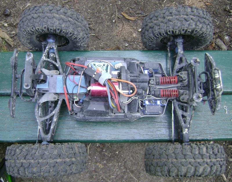 Mon nouveau jouet : Traxxas Summit 1/8 - réglé et prêt à rouler Photo167