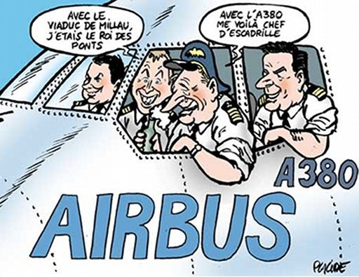 Caricature (Airbus) Presen10
