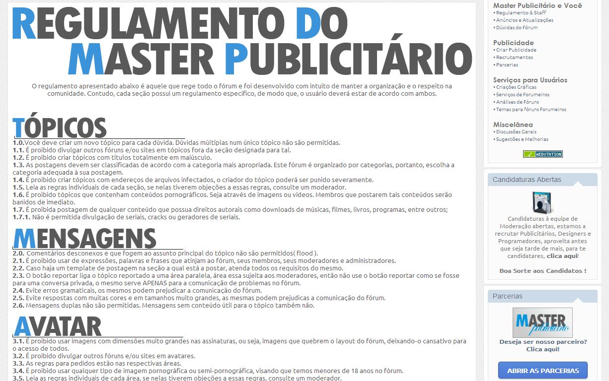 Master Publicitário - O seu fórum de Publicidade! N310