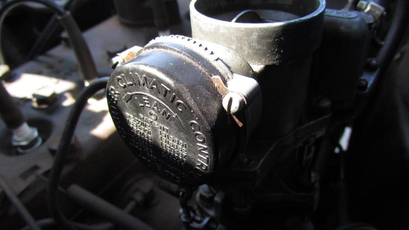 reglages du strater automatique (choke) sur carburateur Carter WA 1 pour studebaker 1938 Img_0026