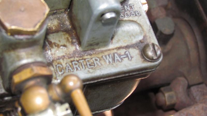 reglages du strater automatique (choke) sur carburateur Carter WA 1 pour studebaker 1938 Img_0028