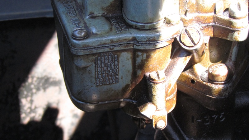 reglages du strater automatique (choke) sur carburateur Carter WA 1 pour studebaker 1938 Img_0029