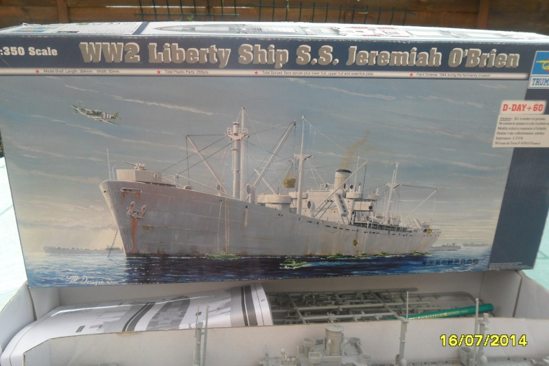 "Le LIBERTY SHIP s.s   "" Trumpeter 1/350 "" 2014-037"