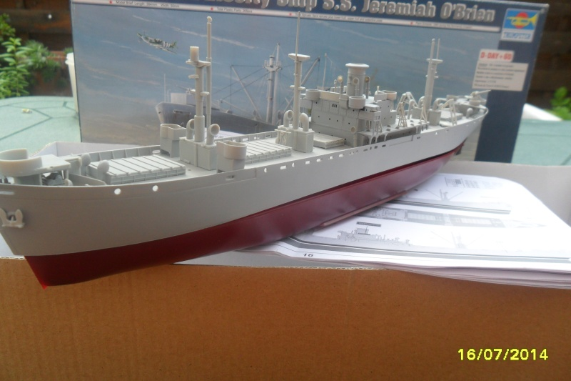"Le LIBERTY SHIP s.s   "" Trumpeter 1/350 "" 2014-038"