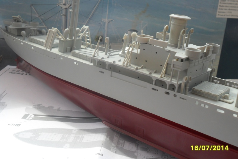 "Le LIBERTY SHIP s.s   "" Trumpeter 1/350 "" 2014-040"