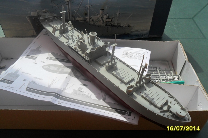 "Le LIBERTY SHIP s.s   "" Trumpeter 1/350 "" 2014-041"