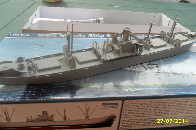 "Le LIBERTY SHIP s.s   "" Trumpeter 1/350 "" 2014-042"