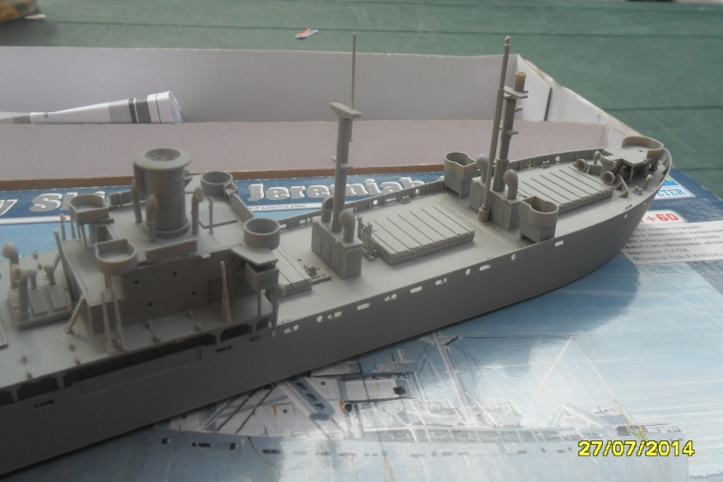"Le LIBERTY SHIP s.s   "" Trumpeter 1/350 "" 2014-043"