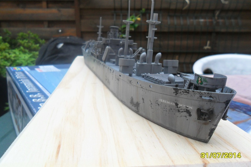 "Le LIBERTY SHIP s.s   "" Trumpeter 1/350 "" 2014-044"