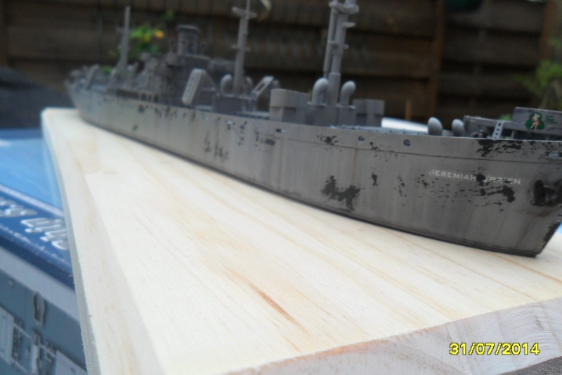 "Le LIBERTY SHIP s.s   "" Trumpeter 1/350 "" 2014-045"