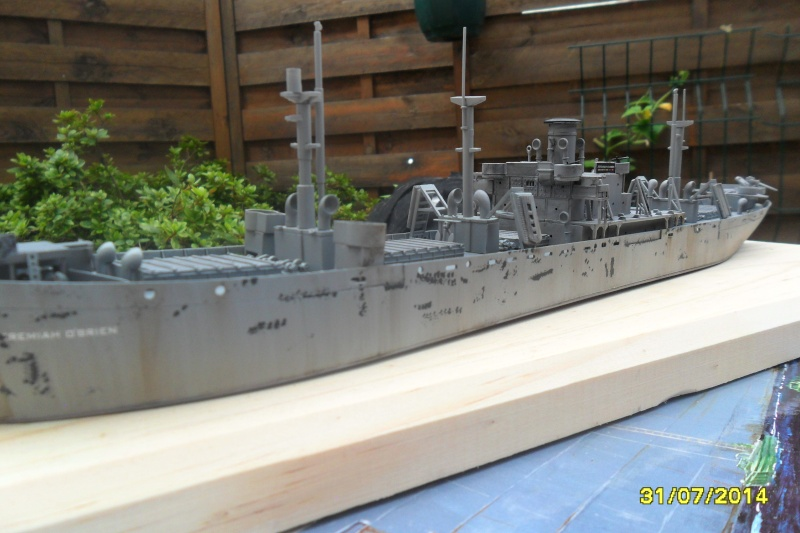 "Le LIBERTY SHIP s.s   "" Trumpeter 1/350 "" 2014-046"
