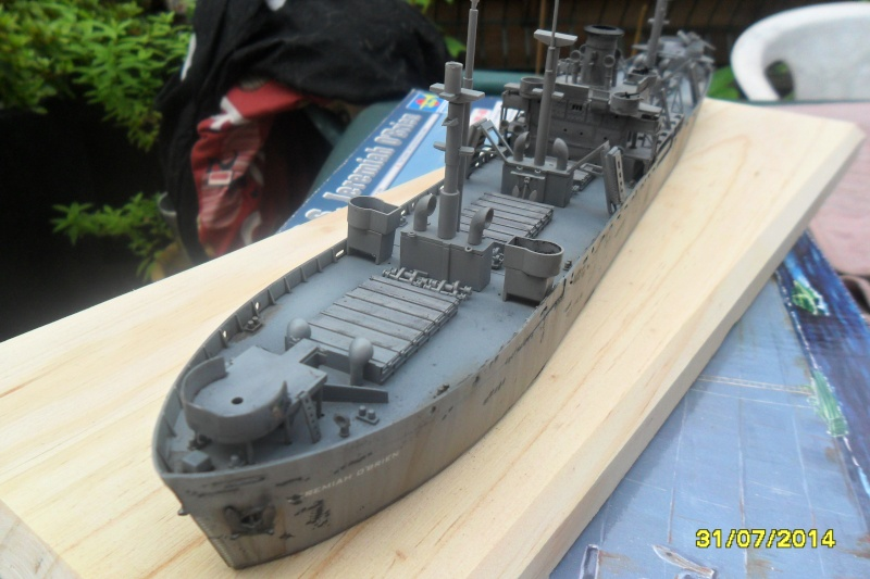 "Le LIBERTY SHIP s.s   "" Trumpeter 1/350 "" 2014-047"