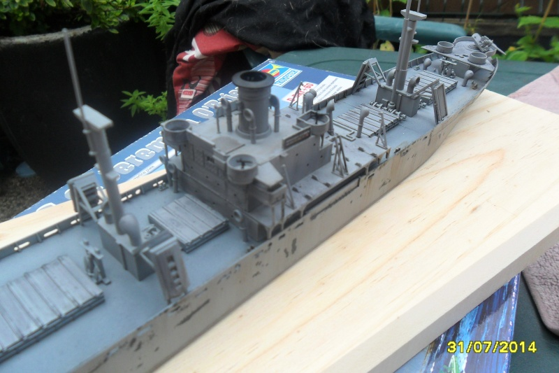 "Le LIBERTY SHIP s.s   "" Trumpeter 1/350 "" 2014-048"