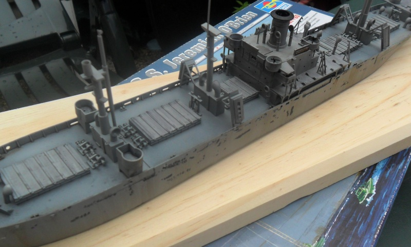 "Le LIBERTY SHIP s.s   "" Trumpeter 1/350 "" 2014-049"