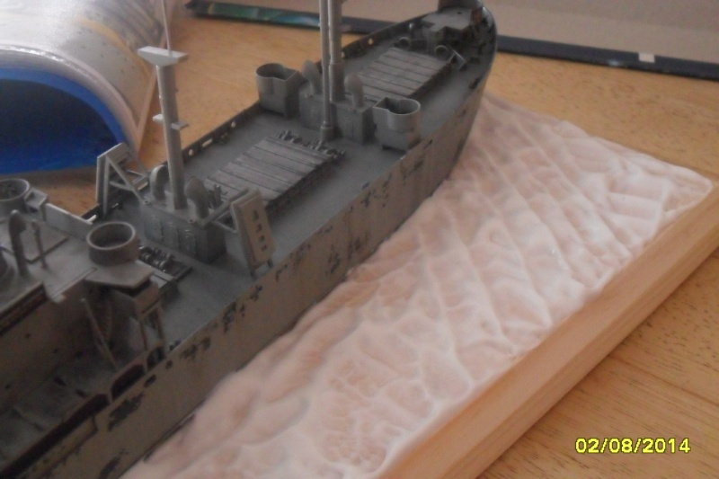 "Le LIBERTY SHIP s.s   "" Trumpeter 1/350 "" 2014-053"