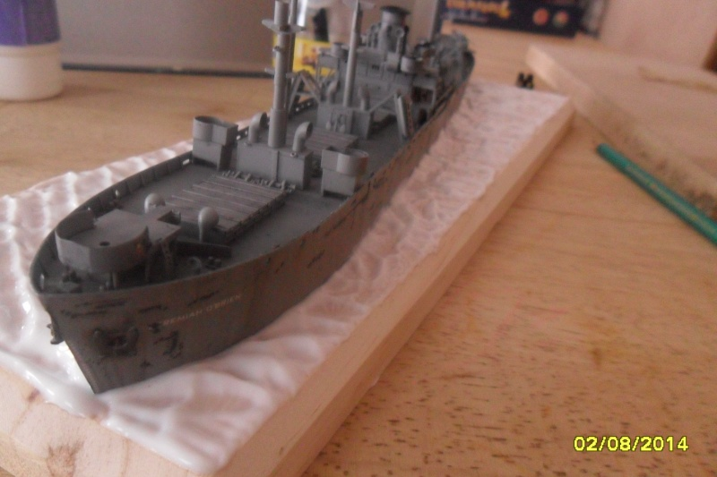 "Le LIBERTY SHIP s.s   "" Trumpeter 1/350 "" 2014-055"