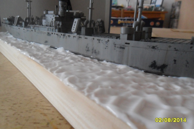 "Le LIBERTY SHIP s.s   "" Trumpeter 1/350 "" 2014-056"