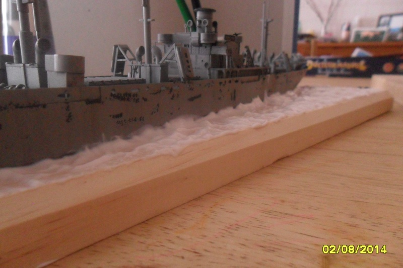 "Le LIBERTY SHIP s.s   "" Trumpeter 1/350 "" 2014-057"