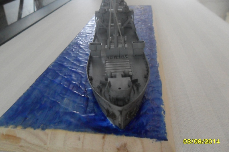"Le LIBERTY SHIP s.s   "" Trumpeter 1/350 "" 2014-058"