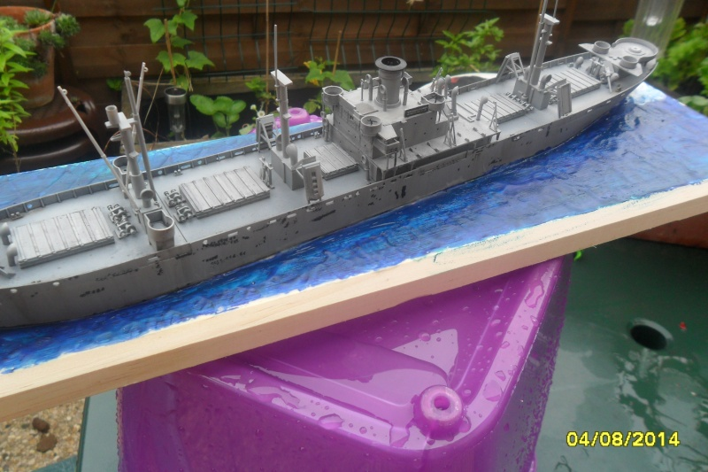 "Le LIBERTY SHIP s.s   "" Trumpeter 1/350 "" 2014-060"