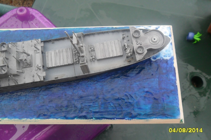 "Le LIBERTY SHIP s.s   "" Trumpeter 1/350 "" 2014-061"
