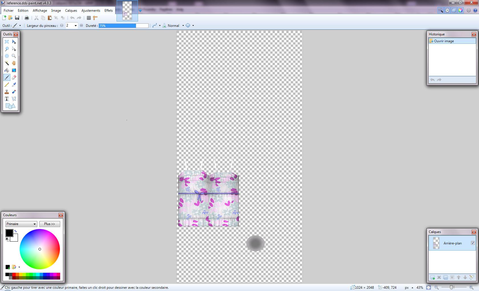 [Apprenti] Recolorer un vêtement du jeu les Sims 4 avec une texture 245